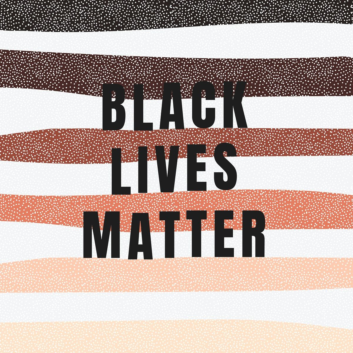 Black Lives Matter On A Colorful Striped Background Social Template Vector Free Image By Black Lives Matter Art Black Lives Matter Poster Black Lives Matter