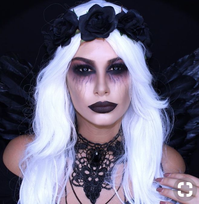 Pin De Carli Nha Em Seasons Halloween Make Maquiagem Para Fantasia Maquilhagem De Halloween