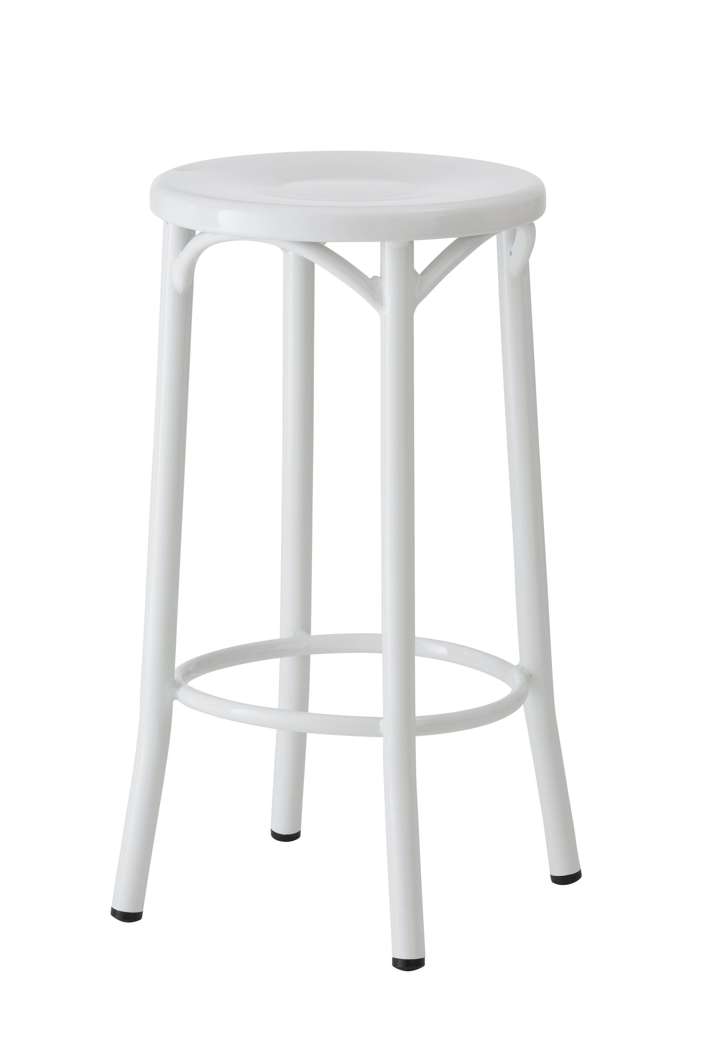 Searching for a replica Paris bentwood stool? This sturdy stool is made from premium powder coated metal and is ideal for your kitchen bench.  sc 1 st  Pinterest & Paris Bentwood Steel Stool - Replica - 65cm - White -- Our Replica ... islam-shia.org