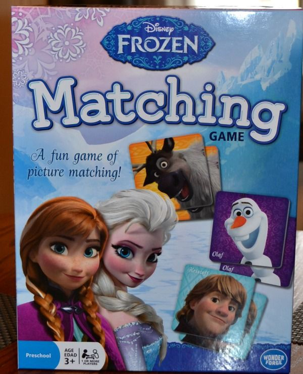 Disney #Frozen Matching Game by Wonder Forge...got this for nessa for getting purple twice last week in school
