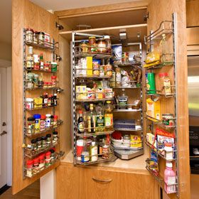 Kitchen Pantry By Hafele Remodel Bay Area Remodeling Contractor