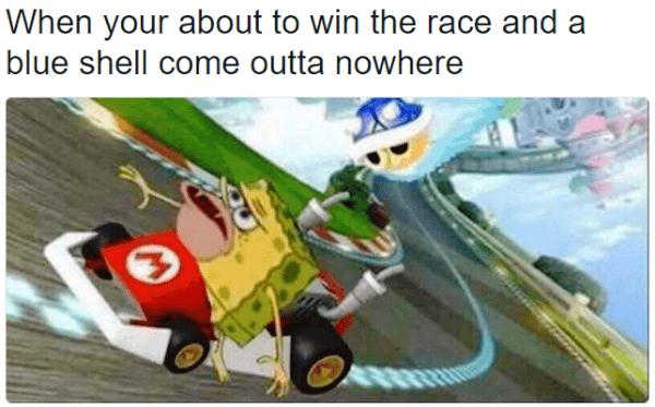 33 Hilariously Accurate Caveman Spongebob Memes Spongebob Memes Funny Spongebob Memes Mario Kart Memes