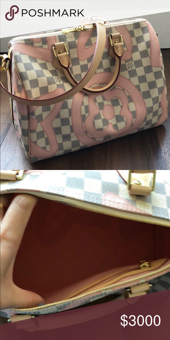 cb87fc1ff8df Spotted while shopping on Poshmark  Limited Edition Louis Vuitton  Tahitienne speedy 30!  poshmark  fashion  shopping  style  Louis Vuitton   Handbags
