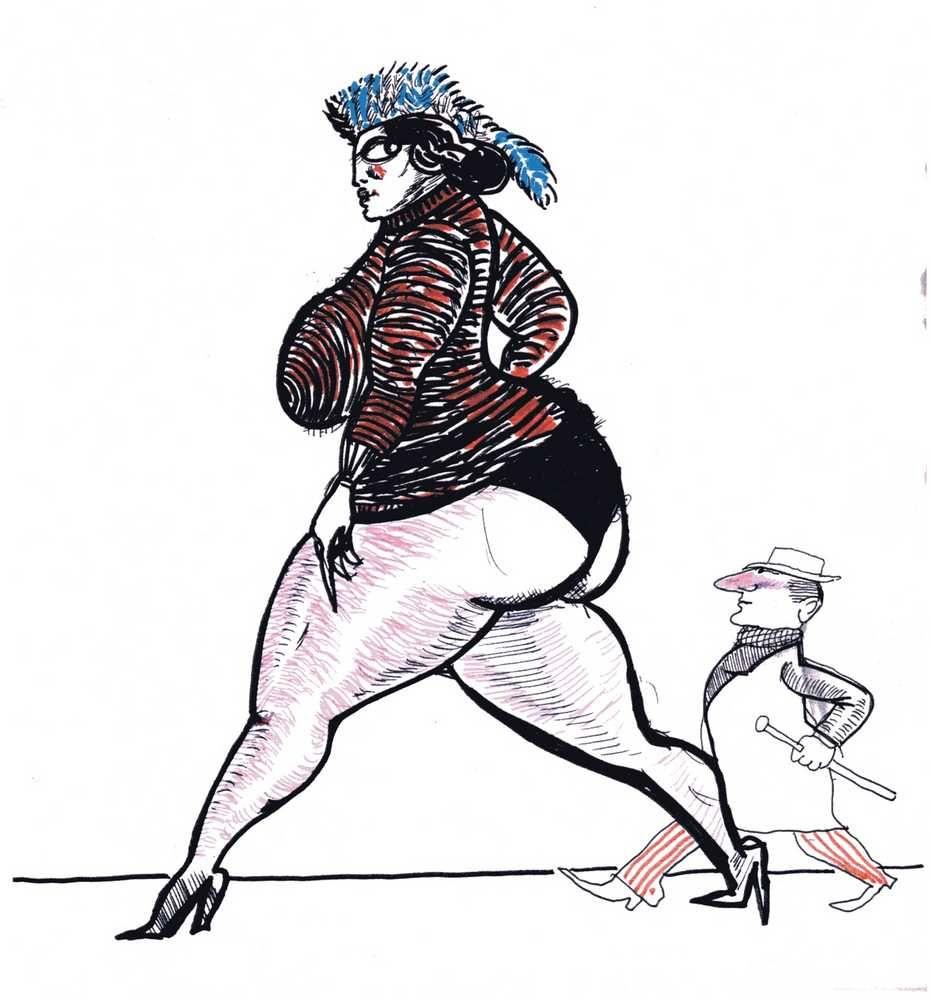 Resultado de imagen para dibujos de fellini