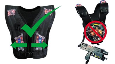 zone laser tag vests are not only the thinnest and lightest plastics rh pinterest com Water Games Clip Art Water Games Clip Art