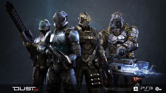 Characters | Dust 514 Concept Art.