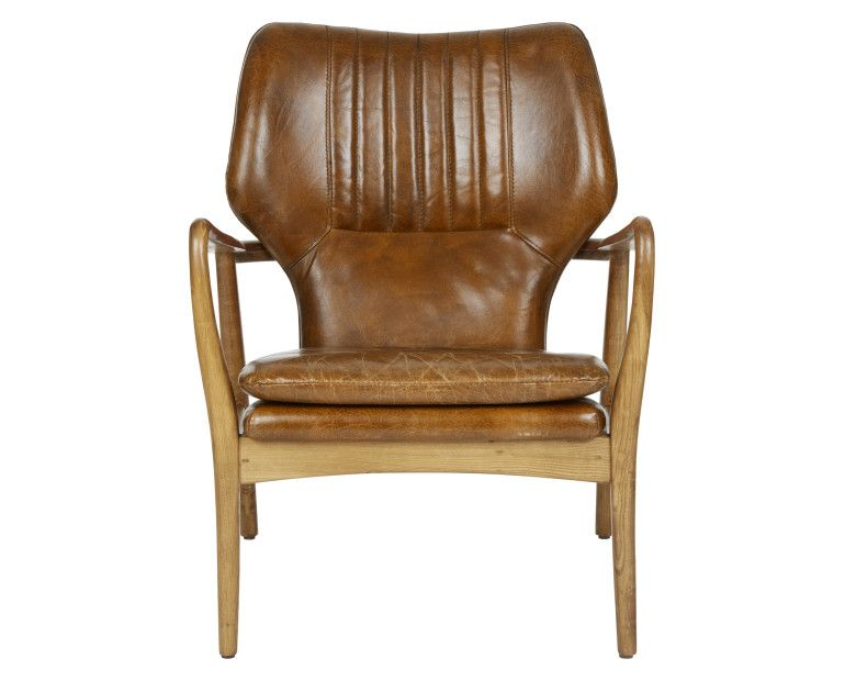 Laura Ashley Whitworth Leather Chair #TimelessCountry #interiors More Pins  Like This At FOSTERGINGER @
