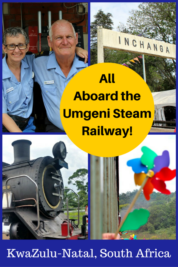 The Inchanga Choo Choo (Umgeni Steam Railway) train offers a fun and exciting excursion through the Valley of a 1000 Hills, perfect for the whole family. Morning trains offer a 3 hour excursion while afternoon trains are 3.5 hour excursions round trip. Read more about our adventure here. #travel #umgenisteam #train #southafrica