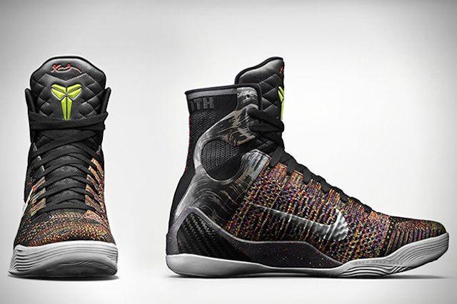 New Cheap Nike Kobe 9 Elite Cheap sale The Masterpiece Black Met
