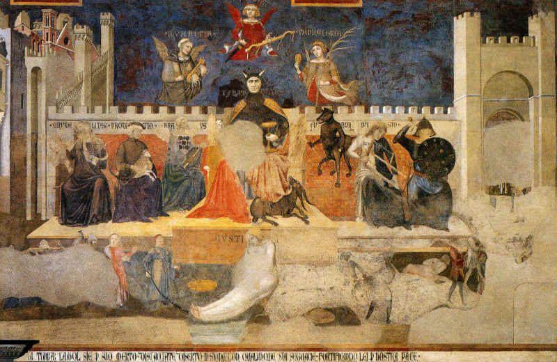 Lorenzetti – Alegoria złych rządów