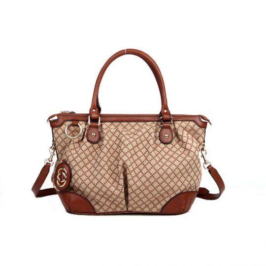 37abc12b4a7a70 Gucci Women Beige Shoulder Bag 247902 9784 | Gucci | Gucci tote bag ...