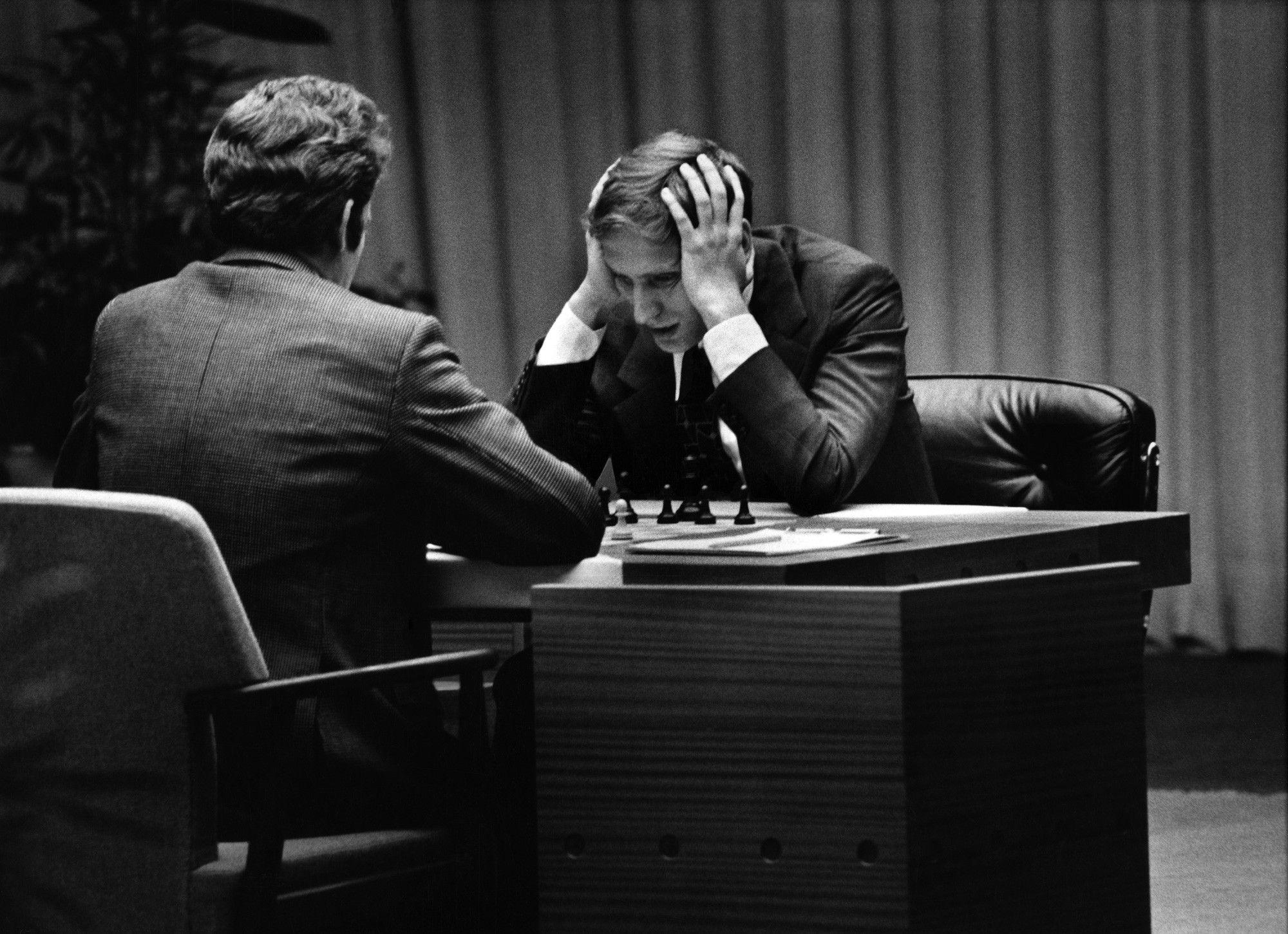 Bobby Fischer Vs. Boris Spassky Game 6, World Chess Championship, Reykjavík, Iceland 1972
