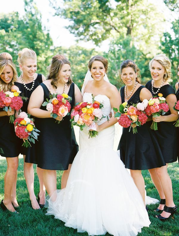 Pin By Jayme Lockyer On Big Day Ideas Coral Bridesmaid Dresses