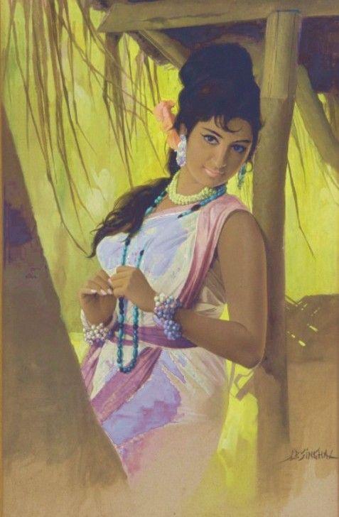 JP Singhal- Calendar Girl.