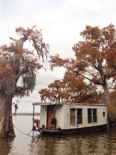Cajun House Boat Crazy Houses Floating House House Boat