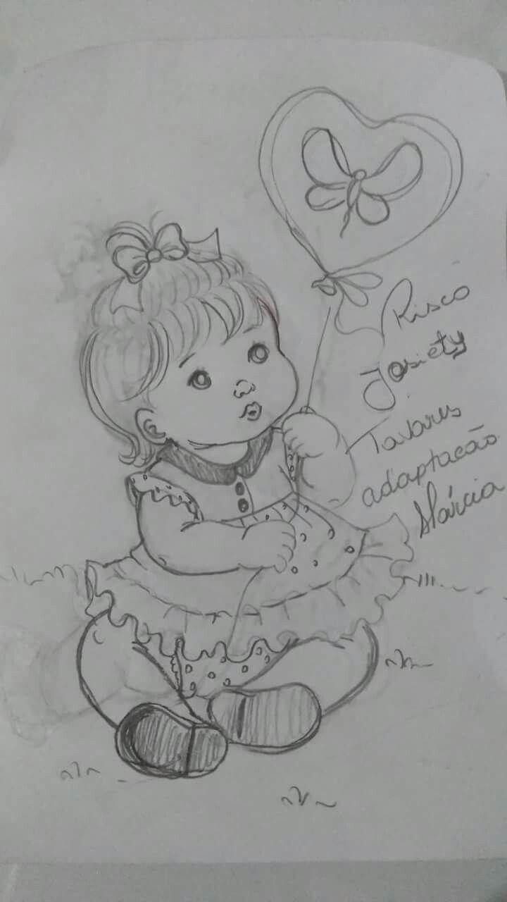 Pin de Nana Sanch en Muñecas | Pinterest | Pinturas, Bebe y Dibujos ...