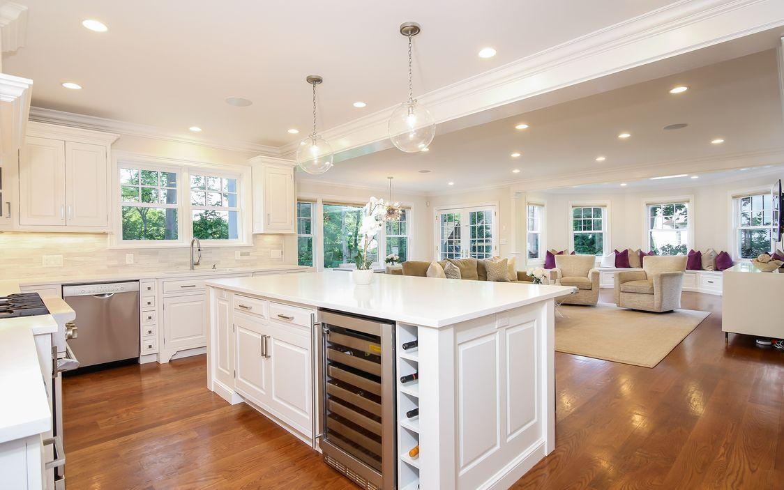 Dream kitchen/family room   Kitchen Design   Pinterest   Center hall ...