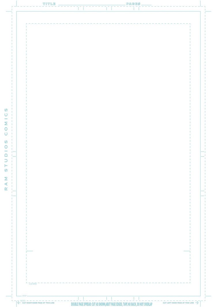 Comic Book Template By Ram Studios Comics By Robertmarzullo  The