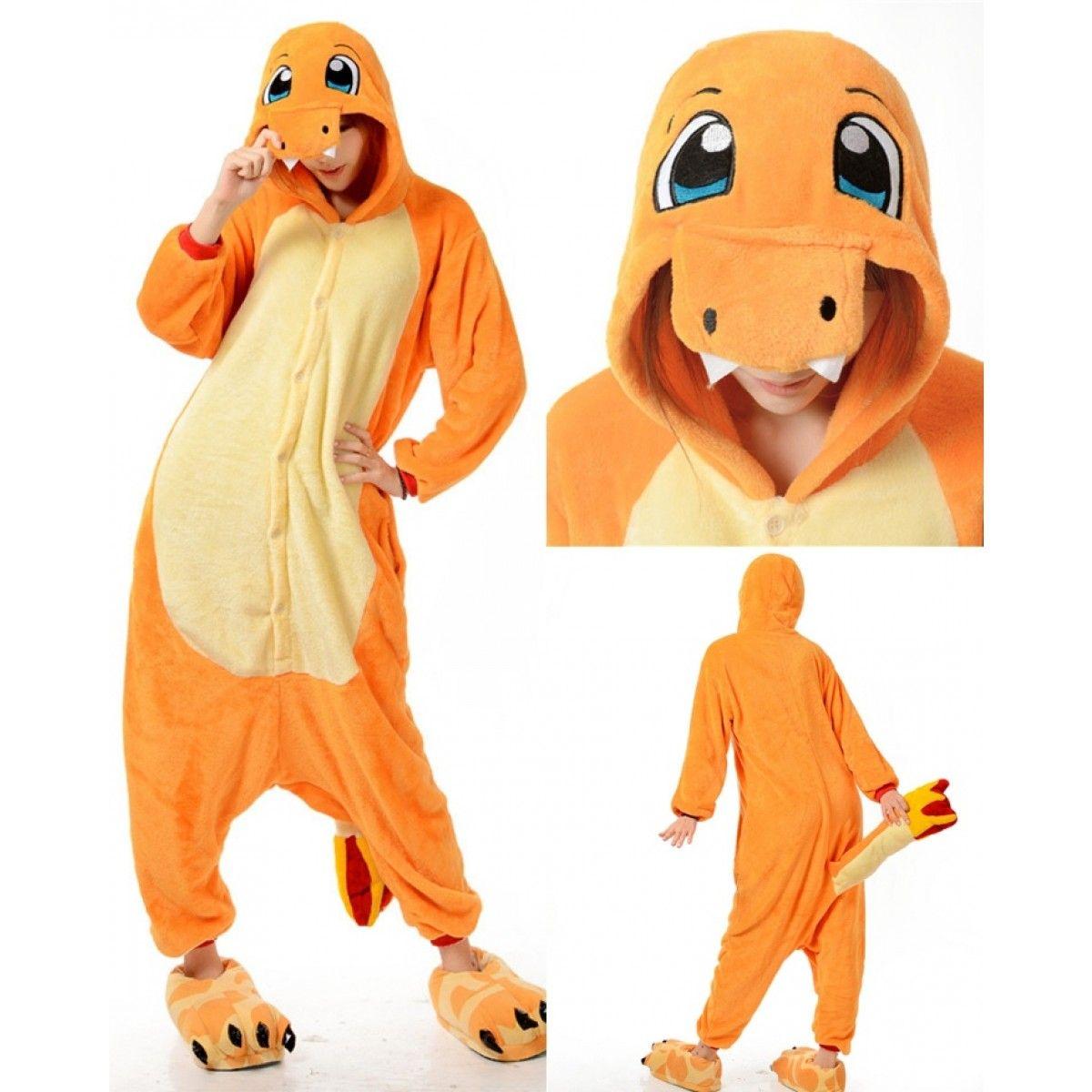 Pokemon Charizard Pajamas Animal Onesies Costume Kigurumi ...