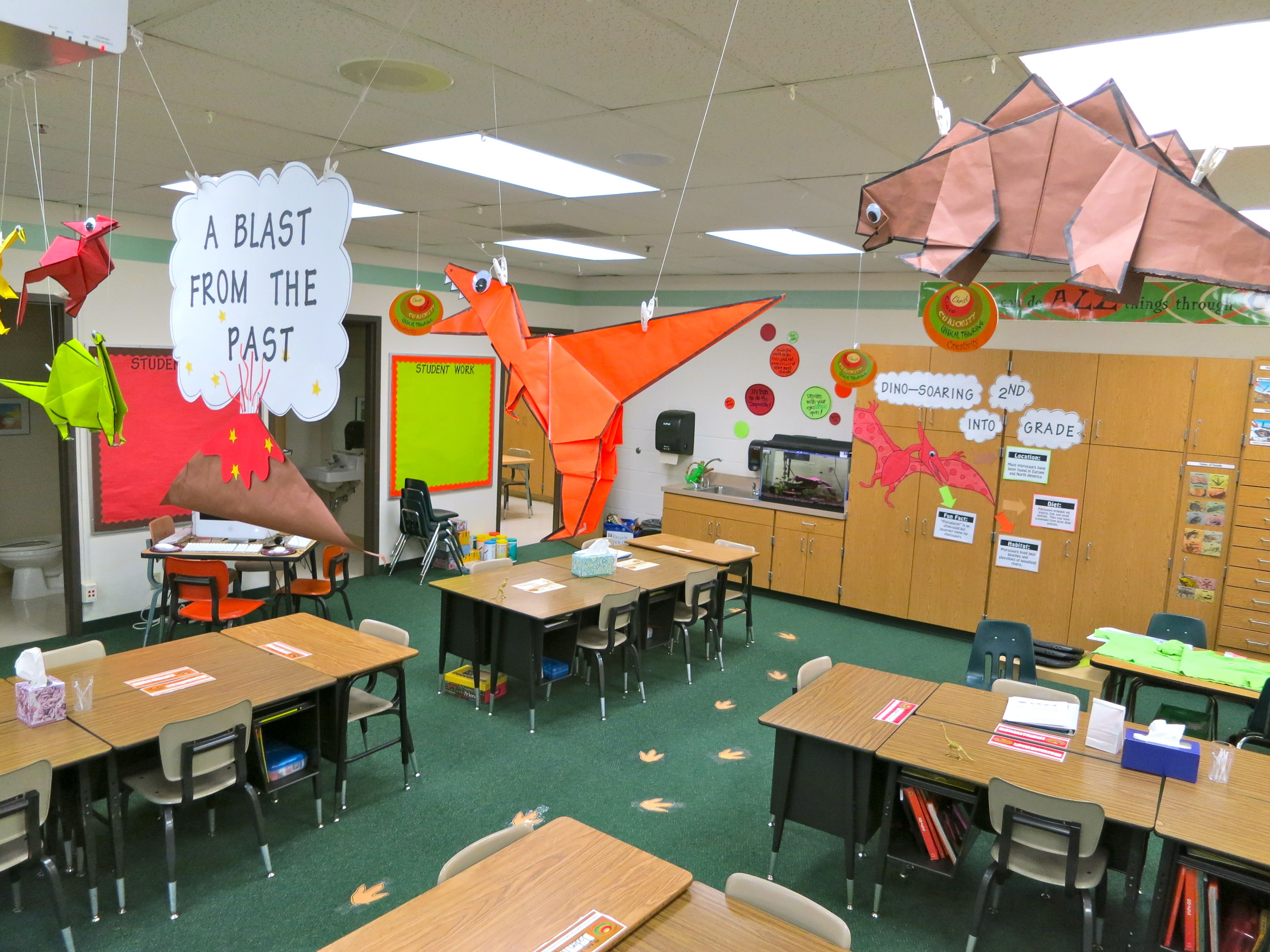 Classroom | DESIGN · Dinosaur DecorationsRoom ...