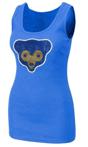 Chicago Cubs Baby Blue 1969 Tank Top $24.95 @Iowa Cubs @Chicago Cubs