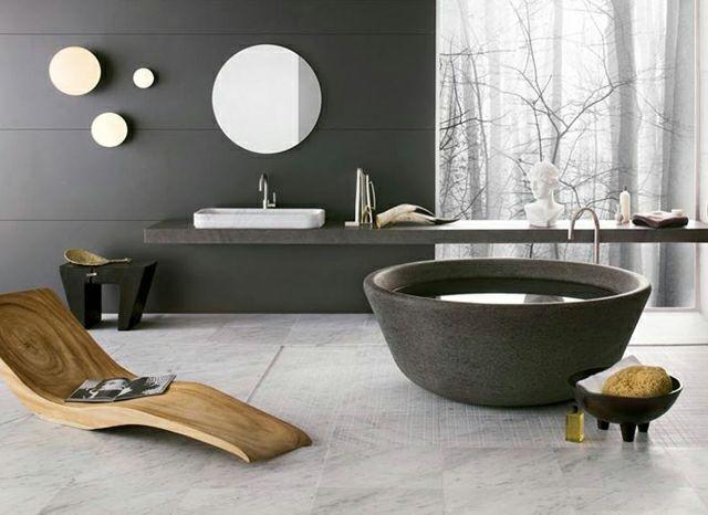 Salle de bain moderne pour une matinée coquette | Searching