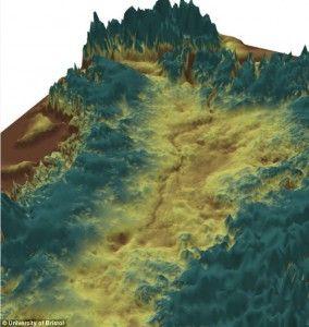 Greenland Grand Canyon Found