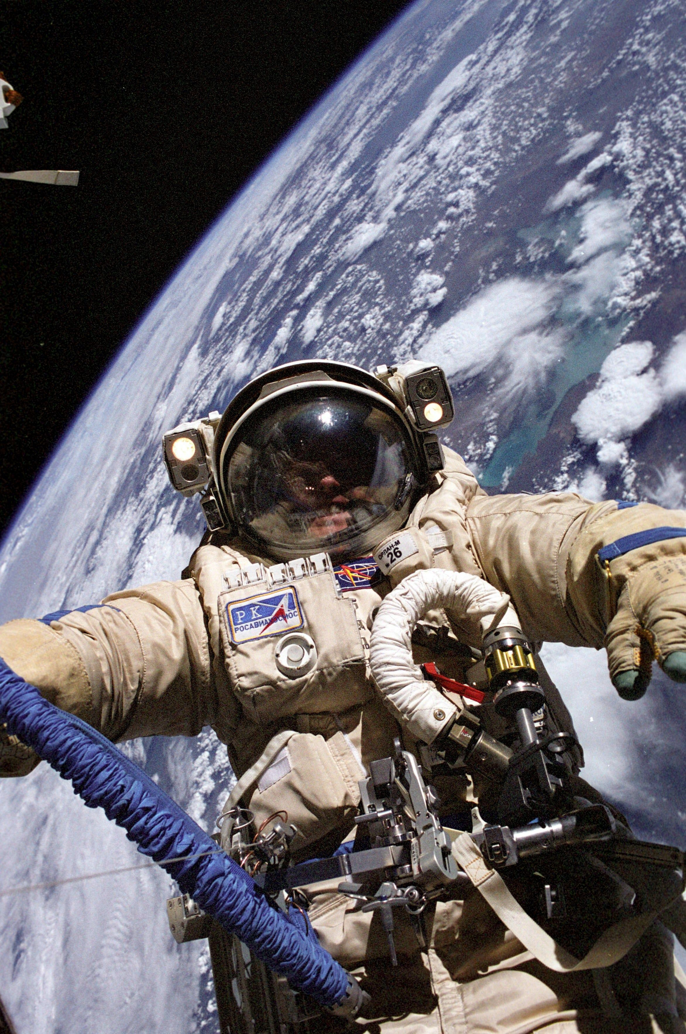 Astroquizzical • Why are NASA s space suits so much clunkier than