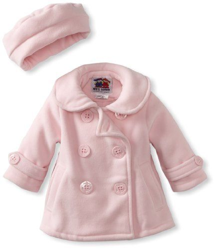 Good Lad Baby-Girls Infant Peacoat Jacket, Pink, 12 | baby stuff ...