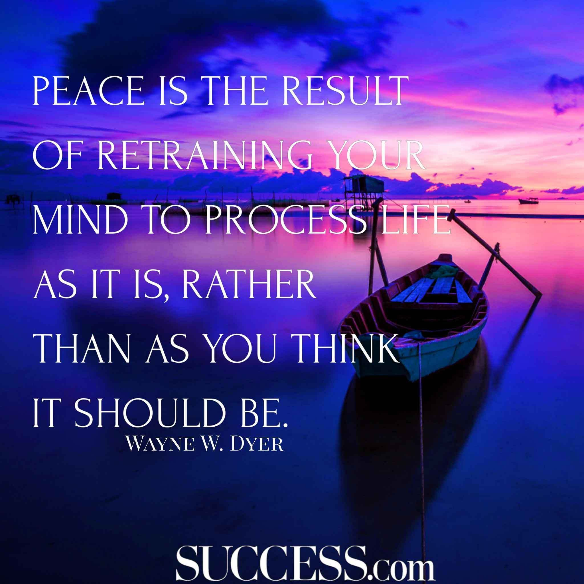 Quotes About Inner Peace Brilliant 17 Quotes About Finding Inner Peace  Peace  Pinterest  Finding .