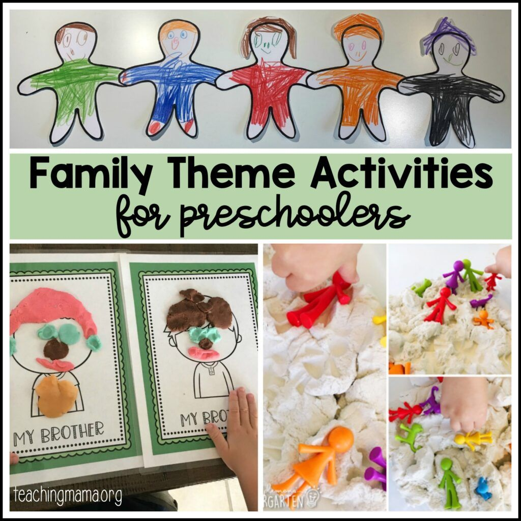 49++ My family craft ideas for preschool ideas