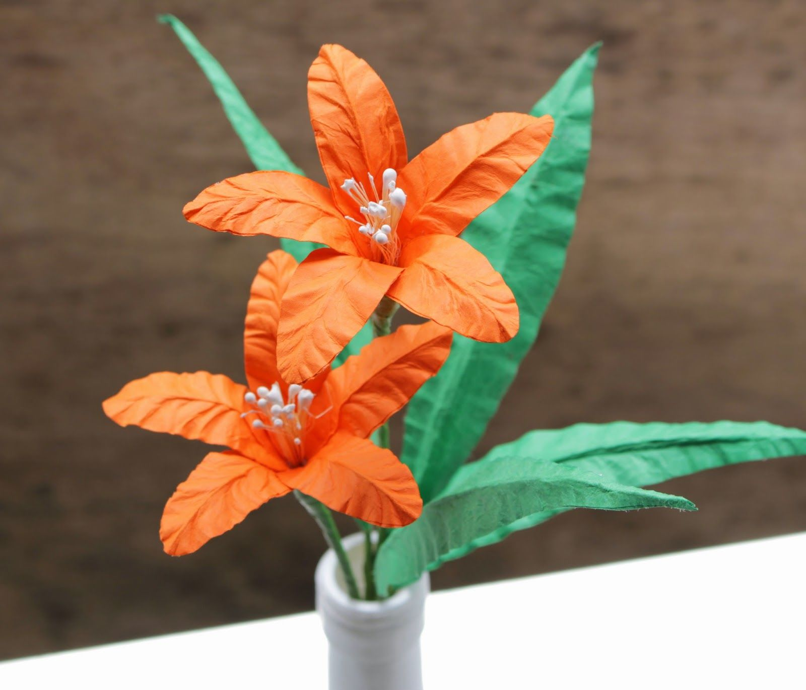 Diy how to make a paper lily reduce reuse recycle replenish diy how to make a paper lily reduce reuse recycle replenish izmirmasajfo
