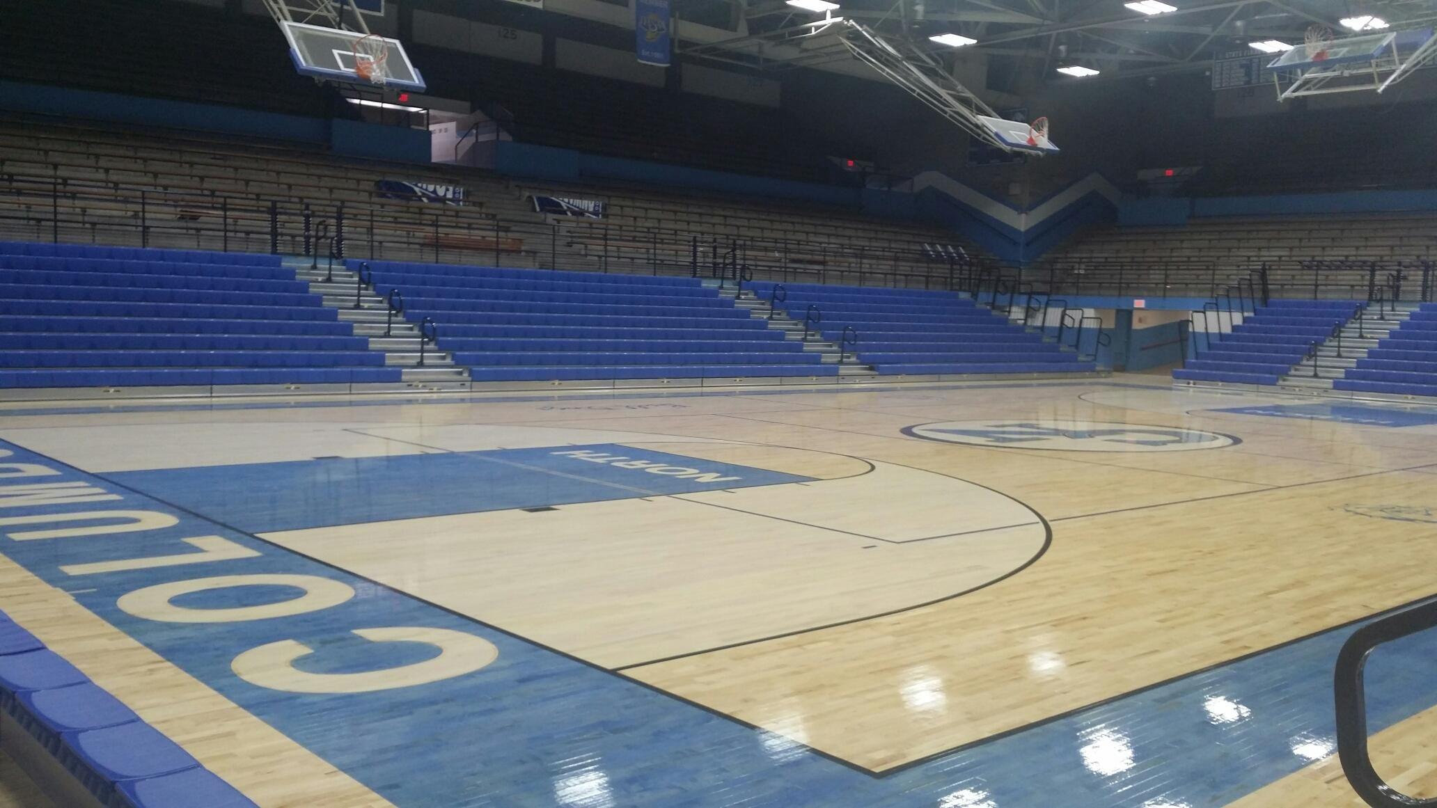 47 Gymnasium Bleacher Installations Ideas Bleachers Installation Basketball Court