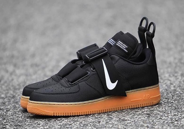 196b2ead3d12c The Strapped Nike Air Force 1 Utility Is Coming Soon In Black And ...