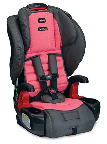 Britax Pioneer G11 Harness2Booster Car Seat Coral >>> Click image for more details.