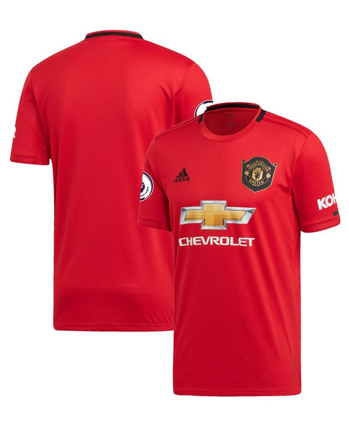 Adidas Men S Manchester United Club Team Home Stadium Jersey Red