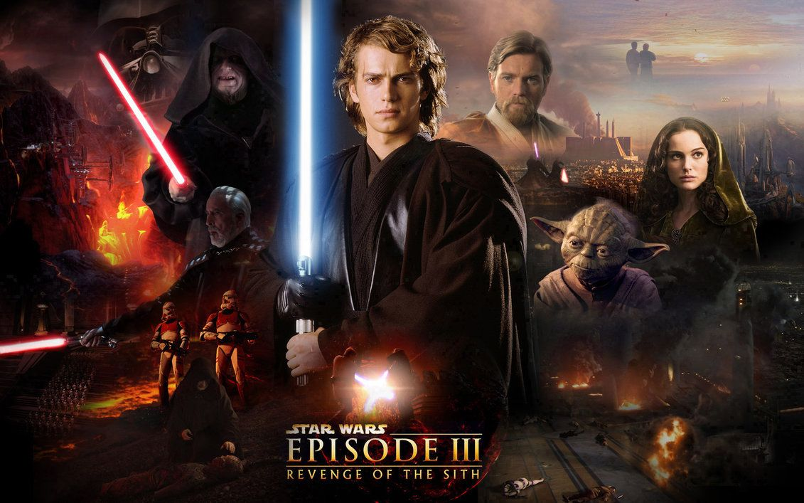 Star Wars Episode Iii Revenge Of The Sith With Images Star Wars Film Star Wars Ii Star Wars Episodes