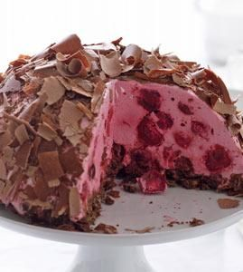 kirsch kuppeltorte rezept kuchen dessert pinterest. Black Bedroom Furniture Sets. Home Design Ideas