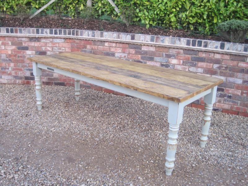 plank top,scaffold board top,Reclaimed Pine Farmhouse