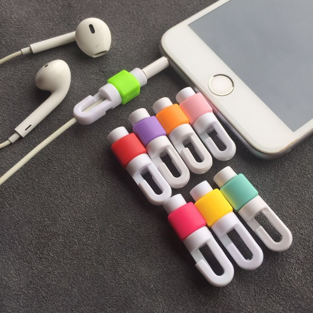 Click To Buy Earphone Cable Protector For Iphone Earphones Wire Organizer Earpods Cord Protector Protective C Earphones Wire Iphone Earphones Iphone Cord