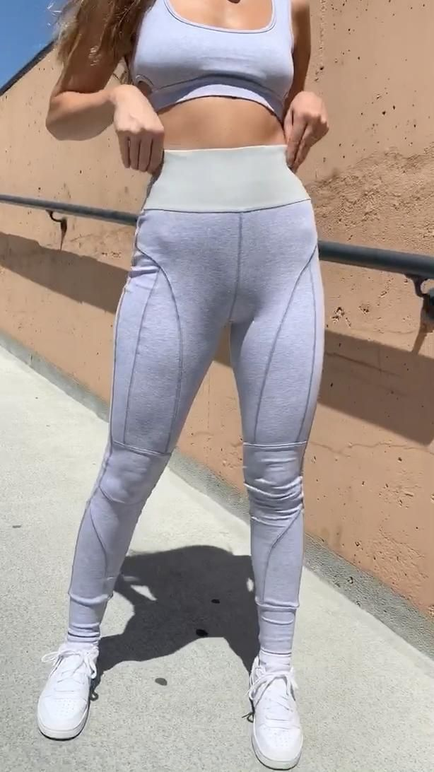 WWW.SPLASHTRIBE.COM Azra Leggings Grey Marle