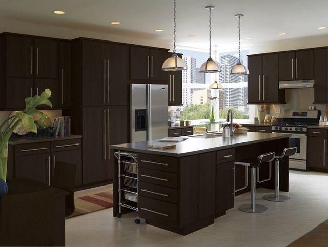 Kitchen Ideas Espresso Cabinets espresso kitchen cabinets | dark espresso cabinets modern