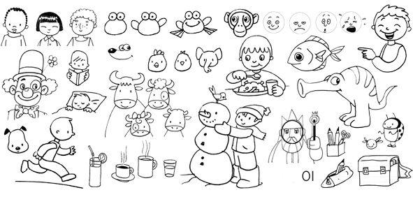 Le dessin rapide et facile pour les orthophonistes je - Dessin facile et rapide ...