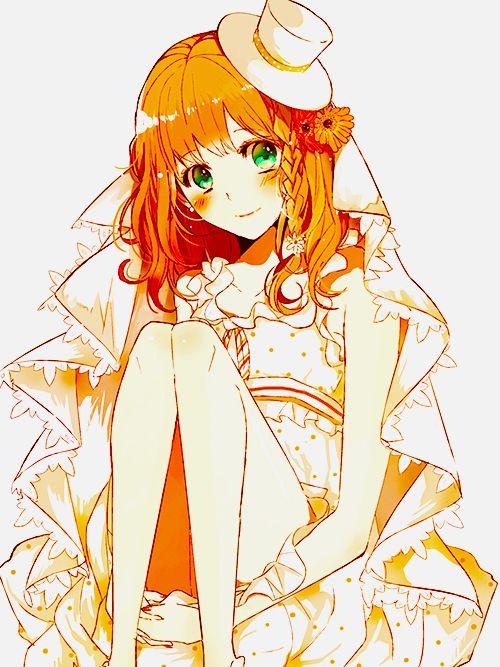 Pin On Anime Orange