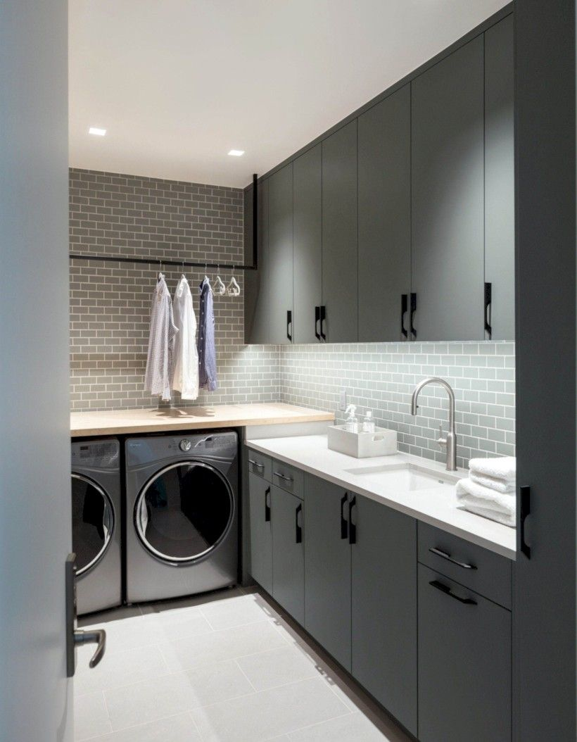 37 Creative And Inspiring Laundry Room Decor Idea images