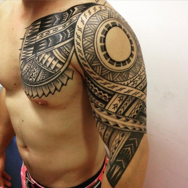 150 most popular tribal samoan tattoo designs of all time for Cool check designs