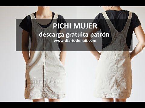bdc77b7fafc6e5 De Mujer Naii Handmade Patrón Gratuito Diario Upcycling Pichi XqTdYq