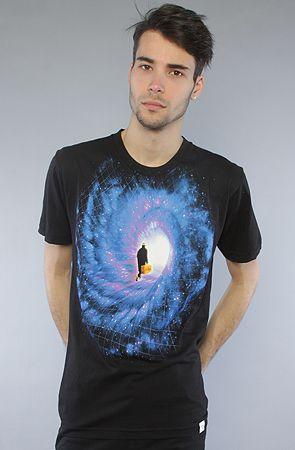 2cec62cc625 Imaginary Foundation The Beyond Tee in Black   Karmaloop.com - Global  Concrete Culture