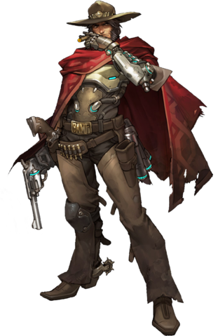 Fajl Mccreeplate Png Mccree Overwatch Overwatch Concept Art Characters