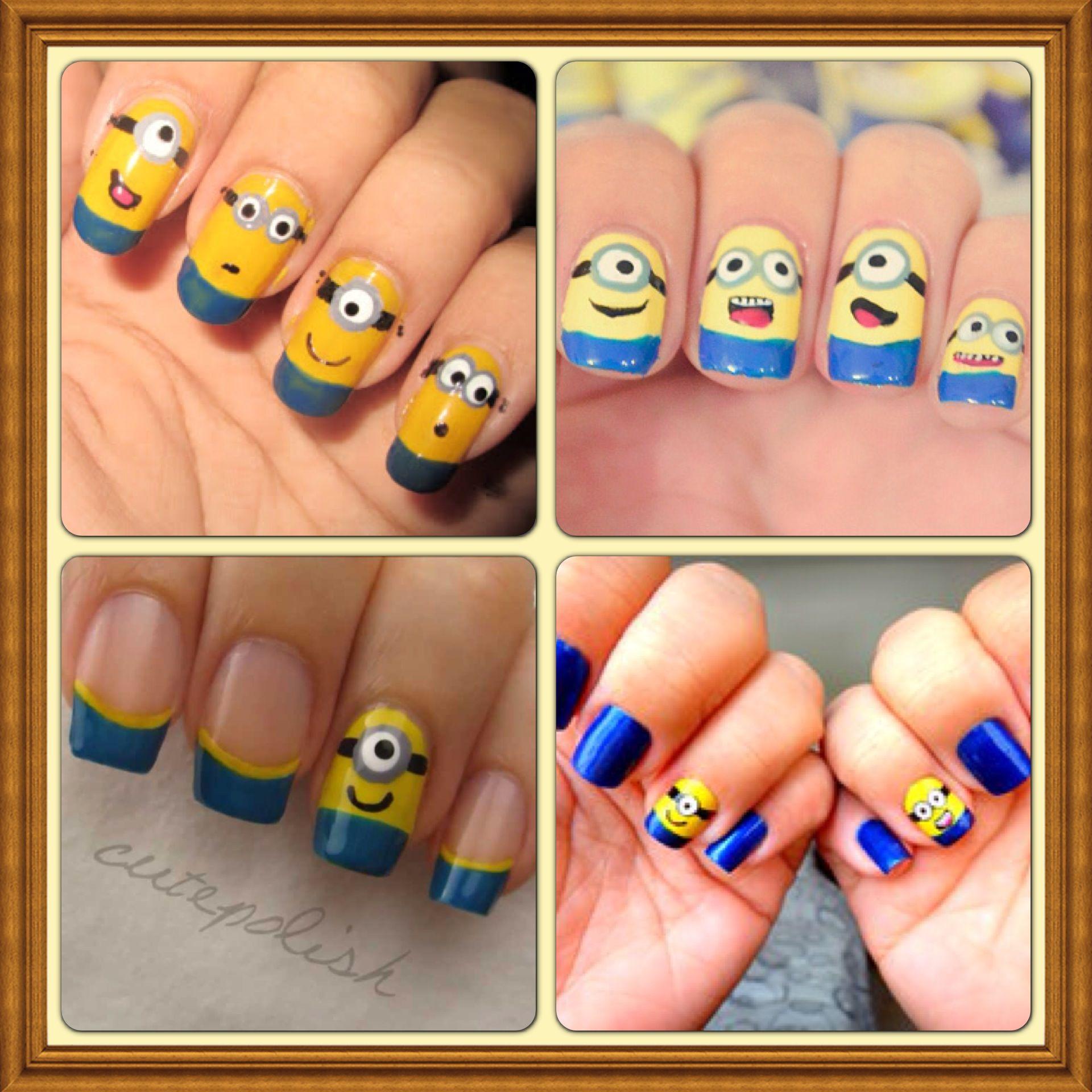 Uñas Minions | Nails! | Pinterest | Minions